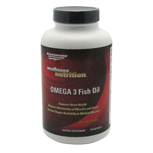 Champion Nutrition, OMEGA 3 Fish Oil, 120 Softgels, 120 Softgels
