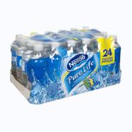 Nestle, Pure Life Purified Water, 24 Bottles, 24 - 1 pt 0.9 fl oz (.5 L)