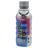 ABB, Diet Turbo Tea, Raspberry Tea, 24 - 18 fl oz (532 ml) 1 pt 2 fl oz bottles