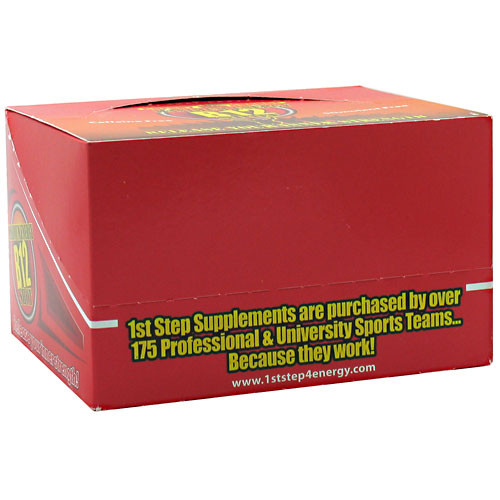 1st Step for Energy, Maximum Energy B12 Shot, Cherry Charge, 12 - 2 fl oz (60 ml) bottles