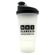 Basic Elements Nutrition, Basic Elements Shaker Bottle, 1 Shaker Bottle, 1 Shaker Bottle - 20 ounces