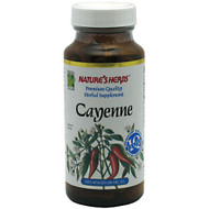 Nature's Herbs, Cayenne, 100 Capsules, 100 capsules