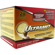 Champion Nutrition, Ultramet Original, Vanilla, 20 - 2.7oz (76g) packets [54 oz (3.4 lb) 1.53 kg]