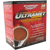 Champion Nutrition, Ultramet Original, Chocolate, 20 - 2.7 oz (76 g) packets [54 oz (3.4 lb) 1.52 kg
