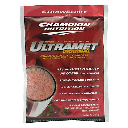 Champion Nutrition, UltraMet Original, Strawberry, 60 packets