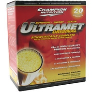 Champion Nutrition, Ultramet Original, Banana Cream, 20-2 oz (56g) packets