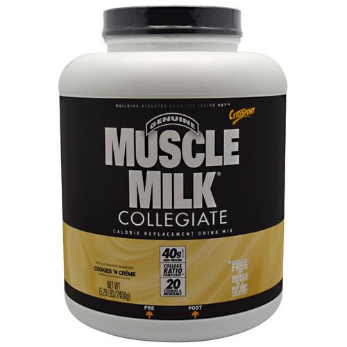 CytoSport, Muscle Milk , Cookies 'N Creme, 5.29 lbs (2400 g)