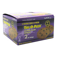 Chef Jay's, Cookies, Oatmeal Raisin, 12 - 3 oz (85 g) packages