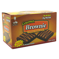 Chef Jay's, Gourmet Brownie, Luscious Peanut Butter, 12 packages [3 oz (85 g)]