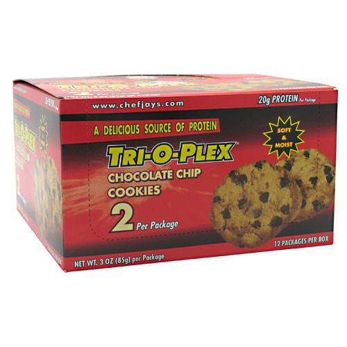 Chef Jay's, Cookies, Chocolate Chip, 12 - 3 oz (85 g) per packages