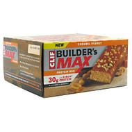 Clif Builder's Builder's Max, Caramel Peanut, 9 Bars - 3.4 oz (97g) each