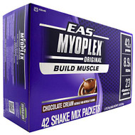 EAS Myoplex Nutrition Shake, Chocolate Cream, 42 - 2.7 oz (78 g) [3 lb 7 oz (1.56 kg)]