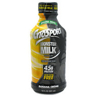CytoSport Monster Milk RTD, Banana Creme, 12 - 20 fl oz (591 mL) Bottles