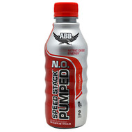 ABB, Speed Stack Pumped N.O. Fruit Punch, 20 - 22 fl oz (1 pt 6 fl oz) bottles