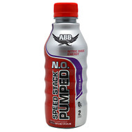 ABB, Speed Stack Pumped N.O., Grape, 20 - 22 fl oz (1 pt 6 fl oz) bottles