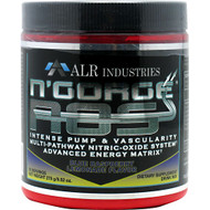 Alr Industries, N'Gorge NOS, Blue Raspberry Lemonade, 30 Servings - 270 g/9.52 oz.