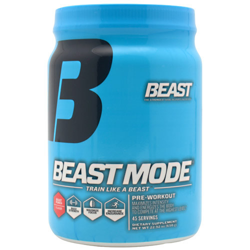 Beast Sports Nutrition, Beast Mode, Beast Punch, 45 Servings