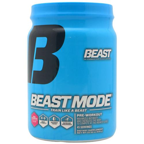 Beast Sports Nutrition, Beast Mode, Pink Lemonade, 45 Servings
