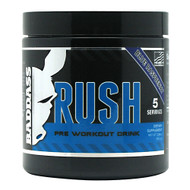 Baddass Nutrition, Baddass Rush, Blue Raspberry, 5 Servings - 3.36 oz
