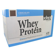 Adept Nutrition, Whey Protein, Chocolate, 25 LB (11,364 g)