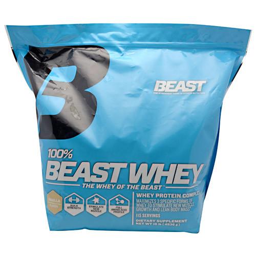 Beast Sports Nutrition, 100% Beast Whey, Vanilla, 10 lb (4520 g)