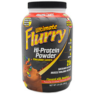 Advance Nutrient Science, Ultimate Flurry Hi-Protein Powder, Chocolate Lovers, 2 lb (908g)