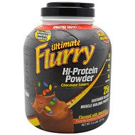 Advance Nutrient Science, Ultimate Flurry Hi-Protein Powder, Chocolate Lovers, 5 lbs (2270g)
