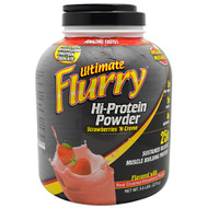 Advance Nutrient Science, Ultimate Flurry Hi-Protein Powder, Strawberries 'N Creme, 5 lbs (2270g)