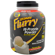 Advance Nutrient Science, Ultimate Flurry Hi-Protein Powder, Ice Cream Vanilla, 5 lbs (2270g)