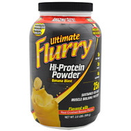 Advance Nutrient Science, Ultimate Flurry Hi-Protein Powder, Banana Blast, 2 lb (908g)