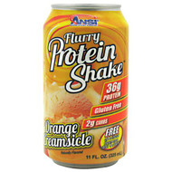 Advance Nutrient Science Flurry Protein Shake, Orange Creamsicle, 12 - 11oz cans