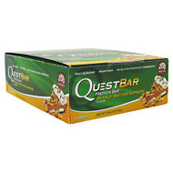 Quest Nutrition Quest Protein Bar, Peanut Butter Supreme, 12-2.12 oz (60g) Bars