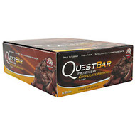 Quest Nutrition Quest Protein Bar, Chocolate Brownie, 12-2.12 oz (60g) Bars
