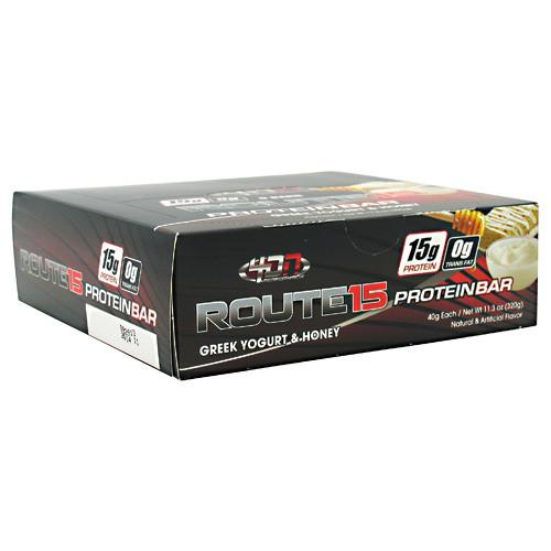 4 Dimension Nutrition, Route 15, Greek Yogurt & Honey, 8 Bars