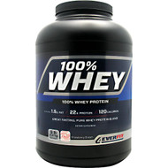 4Ever Fit, 100% Whey Protein, Strawberry Cream, 5 lbs (2.27 kg)