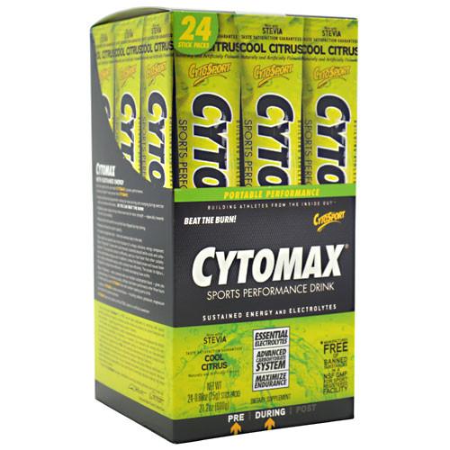 CytoSport, Cytomax, Cool Citrus, 24-0.88 oz (25g) Stick Packs