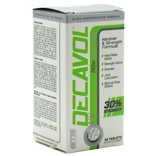 Advanced Muscle Science, Decavol RDe, 60 Tablets, 60 Tablets