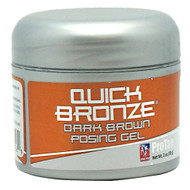 Pro Tan, Quick Bronze, Dark Brown Posing Gel, 2 oz (58g)