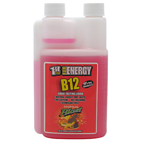 1st Step for Energy, B12, Tropical Blast, 16 fl oz (480) ml