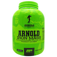 Arnold By Musclepharm Iron Mass, Vanilla Malt, 5 LBS