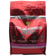 BSN True Mass 1200, Strawberry Milkshake, 10.25 lbs. (4.71 kg)