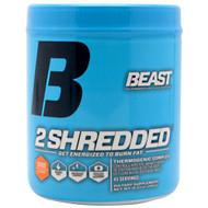 Beast Sports Nutrition 2 Shredded, Orange Mango, 45 Servings