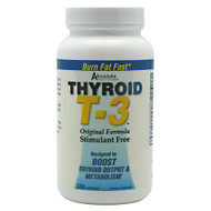 Absolute Nutrition, Thyroid T3, 180 Capsules, 180 Capsules
