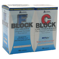 Absolute Nutrition, Dynamic Duo, F Block and C Block, 1 Pair