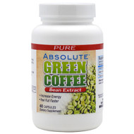 Absolute Nutrition, Green Coffee Extract, 60 Capsules, 60 Capsules