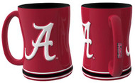 Alabama Crimson Tide Coffee Mug - 15oz Sculpted