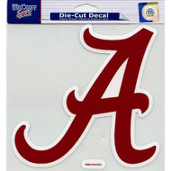 "Alabama Crimson Tide Die-Cut Decal - 8""x8"" Color"