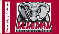 Alabama Crimson Tide 3'x5' Flag