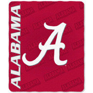 Alabama Crimson Tide 50x60 Fleece Blanket - Mark Design