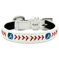 Atlanta Braves Dog Collar - Large